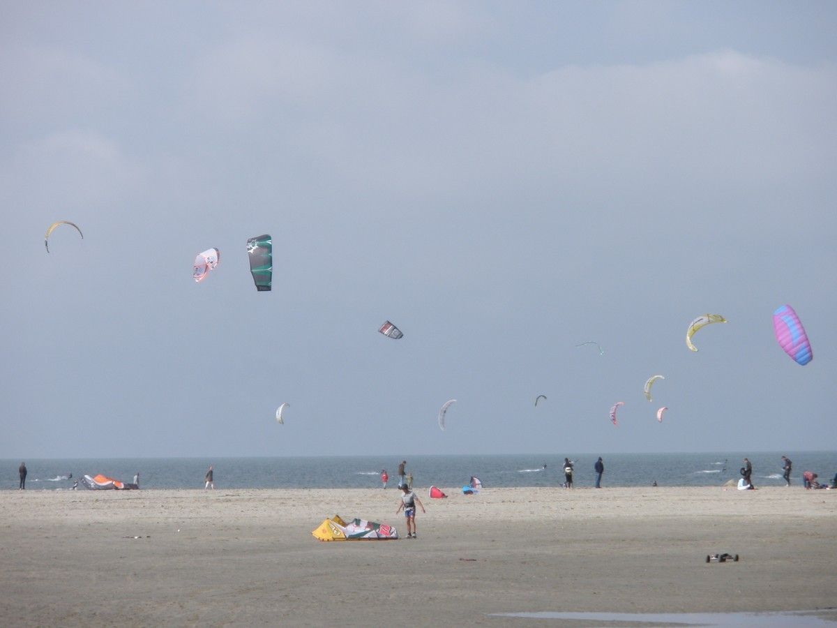 Vliegeren Brouwersdam 20 september 2009