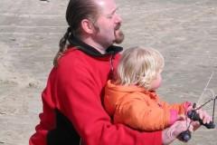 Vliegeren Brouwersdam 29 maart 2009