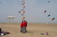 Lente vliegeren strand Zeebrugge (B) 2011