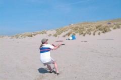 Maasvlakte de slufter 21 april 2003