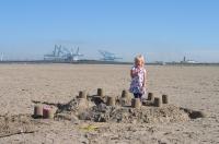 Vliegeren strand Zeebrugge (B) 2012