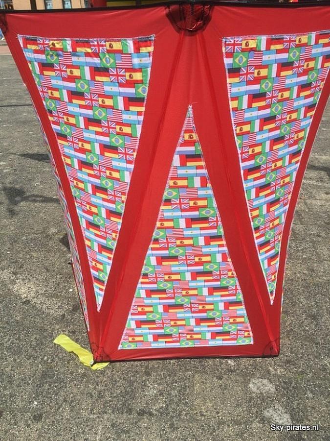 Drumbox vlaggen
