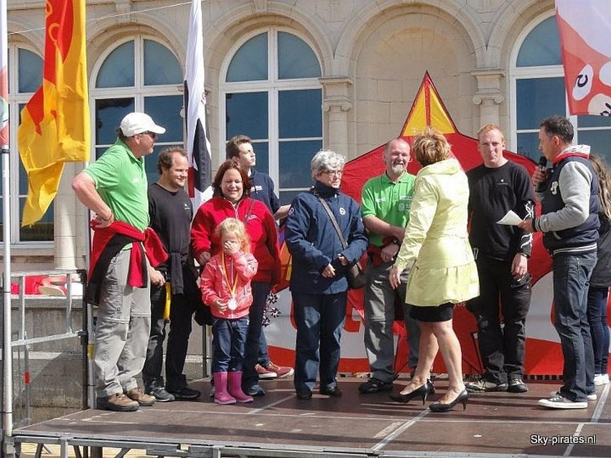 1e prijs Vliegerfestival Oostende