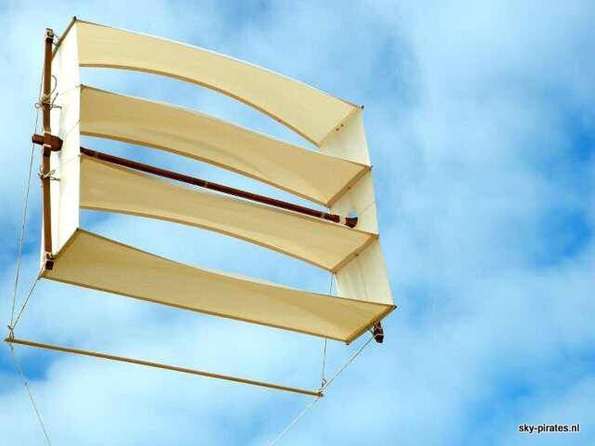 Historische vliegers van Jan Borsboom