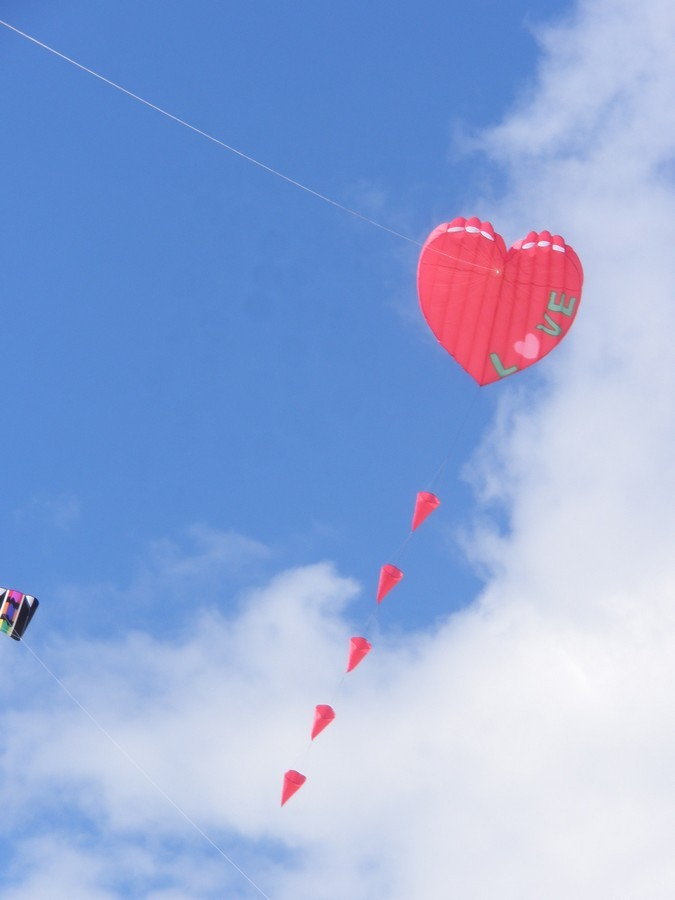 Love kite
