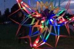 3d ster verlicht