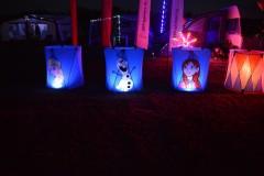 Drumbox frozen verlicht