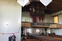 Historische vliegers van Jan Borsboom (kerk Nieuwendijk)